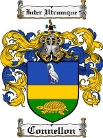 Primary image for Connellon Family Crest / Coat of Arms JPG or PDF Image Download