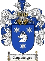 Primary image for Coppinger Family Crest / Coat of Arms JPG or PDF Image Download