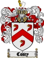 Primary image for Cosey Family Crest / Coat of Arms JPG or PDF Image Download