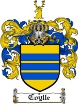 Coylle Family Crest / Coat of Arms JPG or PDF Image Download - $6.99