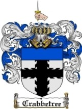 Crabbetree Family Crest / Coat of Arms JPG or PDF Image Download - $6.99