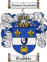 Crabbie Family Crest / Coat of Arms JPG or PDF Image Download - $6.99