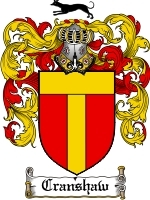 Primary image for Cranshaw Family Crest / Coat of Arms JPG or PDF Image Download