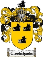 Primary image for Crookshanks Family Crest / Coat of Arms JPG or PDF Image Download