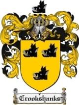 Crookshanks Family Crest / Coat of Arms JPG or PDF Image Download - $6.99