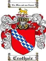 Primary image for Crothair Family Crest / Coat of Arms JPG or PDF Image Download