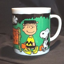 Charlie Brown Peanuts Great Pumpkin Country Mug Halloween Snoopy Dracula... - $24.26