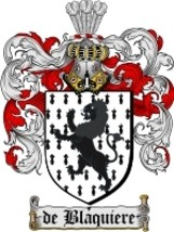 De'Blaquiere Family Crest / Coat of Arms JPG or PDF Image Download - $6.99