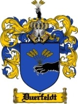 Duerfeldt Family Crest / Coat of Arms JPG or PDF Image Download - $6.99
