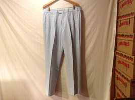 Faconnable Albert Goldberg Mens Light Blue Pants, Size 35 X 45