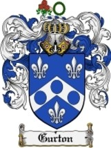 Gurton Family Crest / Coat of Arms JPG or PDF Image Download - $6.99