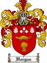 Horgan Family Crest / Coat of Arms JPG or PDF Image Download - $6.99