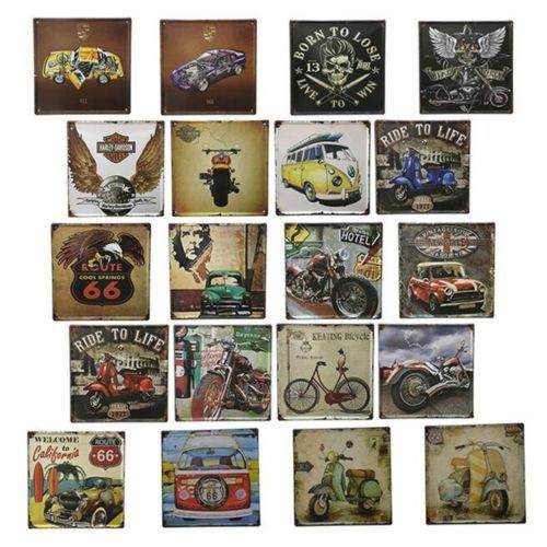 Bar Cafes Coffee Shop Wall Hanging Decoration Iron 3013