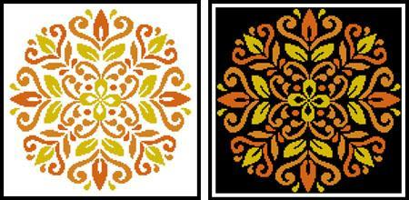 Primary image for Ornament Floral 1 #12276 cross stitch chart Artecy Cross Stitch Chart