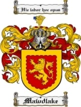Mawdlake Family Crest / Coat of Arms JPG or PDF Image Download - $6.99