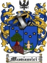 Musumici Family Crest / Coat of Arms JPG or PDF Image Download - $6.99