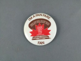 1983 Grey Cup Pin - Fan Zone (Fan Fare ) - Rare !!  - $19.00