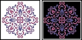 Ornament Floral 2 #12277 cross stitch chart Artecy Cross Stitch Chart - $7.20