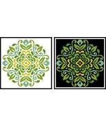 Ornament Floral 3 #12278 cross stitch chart Artecy Cross Stitch Chart - $7.20