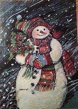 Flurry Snowman Flag 25 X 38 - $25.00
