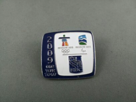 2010 Winter Olympic Games Pin - 1 Year Countdown - RBC Sponsor Pin !! - $19.00