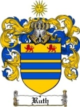 Ruth Family Crest / Coat of Arms JPG or PDF Image Download - $6.99