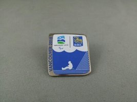 2010 Winter Olympic Games Pin - Sledge Hockey Pin - RBC Sponsor Pin - $19.00
