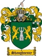 Shaughnessy Family Crest / Coat of Arms JPG or PDF Image Download - $6.99