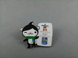 2010 Winter Olympic Games Pin - RBC Sponsor Pin featuring Miga !!! - $15.00