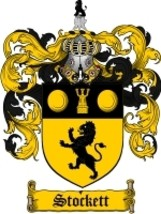 Stockett Family Crest / Coat of Arms JPG or PDF Image Download - $6.99