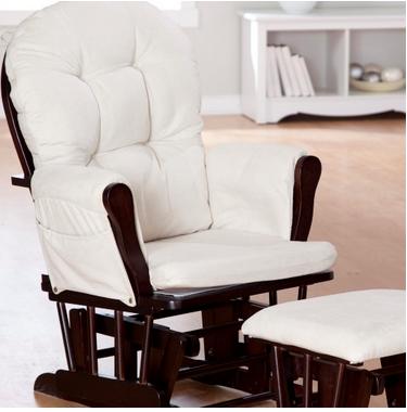 ... Beige Storkcraft Baby Nursery Rocking Chair - Rockers, Gliders