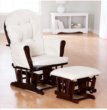 ... Espresso Beige Storkcraft Baby Nursery Rocking Chair - Rockers