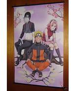 NARUTO SAKURA & SAI ANIME MANGA WALL SCROLL 24X36 NEW - $9.95
