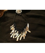 GENUINE SHELL  NECKLACE - $15.00