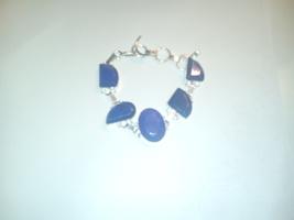 Genuine Natural Sapphire Gemstone Bracelet - $23.99