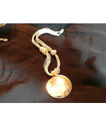 LARGE SHELL  NECKLACE - $9.00