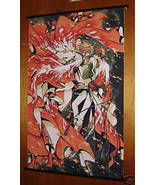 TSUBASA RESERVOIR CHRONICLE WALL SCROLL SAKURA FEATHERS - $11.95