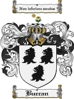 Primary image for Buccan Family Crest / Coat of Arms JPG or PDF Image Download