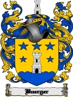 Primary image for Buerger Family Crest / Coat of Arms JPG or PDF Image Download