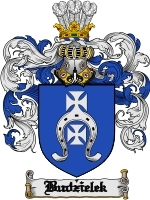 Primary image for Budzielek Family Crest / Coat of Arms JPG or PDF Image Download