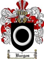 Primary image for Burgos Family Crest / Coat of Arms JPG or PDF Image Download