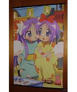 LUCKY STAR TSUKASA & KAGAMI ANIME MANGA WALL SCROLL NEW - $11.95