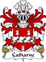Primary image for Catharne Family Crest / Coat of Arms JPG or PDF Image Download