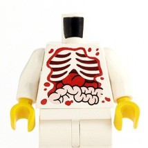 Zombie food fig torso open chest savaged dead patient injure blood body lab - $9.41