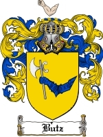 Primary image for Butz Family Crest / Coat of Arms JPG or PDF Image Download