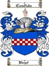 Boyd Family Crest / Coat of Arms JPG or PDF Image Download - $6.99
