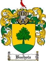 Primary image for Bucholz Family Crest / Coat of Arms JPG or PDF Image Download
