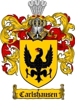Primary image for Carlshausen Family Crest / Coat of Arms JPG or PDF Image Download
