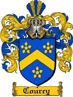 Courcy coat of arms download