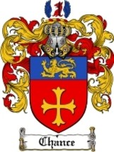 Chance Family Crest / Coat of Arms JPG or PDF Image Download - $6.99